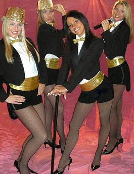 Contact Crazy Wolf Entertainment to book Chicago Honey Bear Dancers