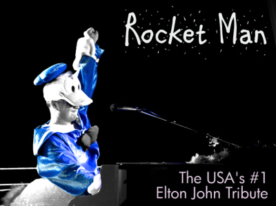 Contact Crazy Wolf Entertainment to book The Rocket Man Band - Elton John Tribute