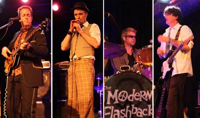 Contact Crazy Wolf Entertainment to book The Modern Flashbacks