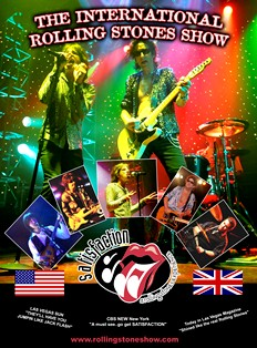 Contact Crazy Wolf Entertainment to book Satisfaction/The International Rolling Stones Show