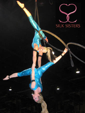 Contact Crazy Wolf Entertainment to book SILK SISTERS