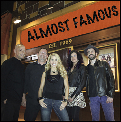 Contact Crazy Wolf Entertainment to book Almost Famous