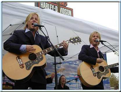 Contact Crazy Wolf Entertainment to book Matthew and Gunnar Nelson
