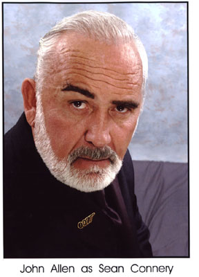 Contact Locolobo to book James Bond,Sean Connery, lookalike