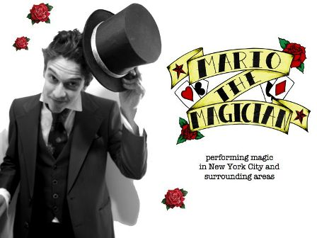 Contact Locolobo to book Mario the Magician