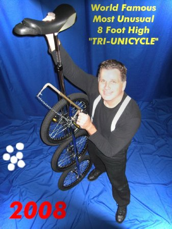Contact Locolobo to book Bruce Sarafian WORLD RECORD JUGGLER