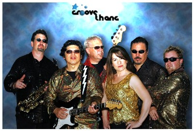 Contact Crazy Wolf Entertainment to book Groove Thang Band
