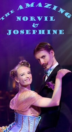Contact Crazy Wolf Entertainment to book Amazing Norvil & Josephine
