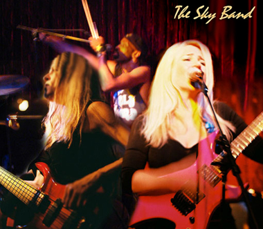 Contact Crazy Wolf Entertainment to book The Sky Band