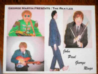 Contact Crazy Wolf Entertainment to book George Martin Presents:The Beatles One-Man Show!