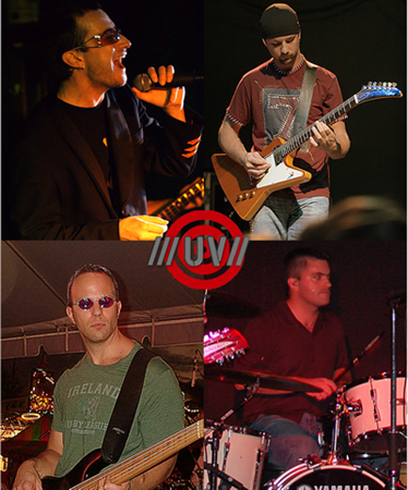 Contact Crazy Wolf Entertainment to book UV - The U2 Tribute Show