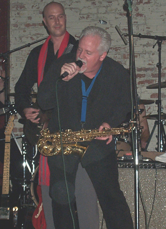 Contact Crazy Wolf Entertainment to book Kevin Frazier Smooth Jazz Saxophone