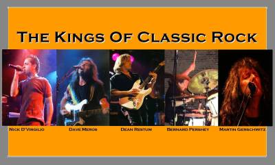 Contact Crazy Wolf Entertainment to book The Kings Of Classic Rock