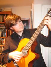 Contact Crazy Wolf Entertainment to book Ryan Twitty - Classical guitarist
