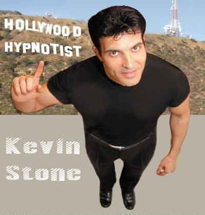 Contact Locolobo to book Hollywood Hypnotist Kevin Stone