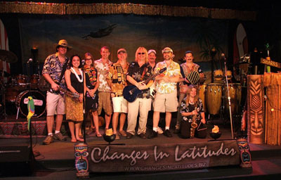 Contact Crazy Wolf Entertainment to book Changes In Latitudes