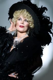 Contact Crazy Wolf Entertainment to book Linda's  Mae West  pix attached