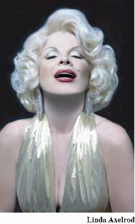 Contact Crazy Wolf Entertainment to book Linda's Marilyn description and pix attached.