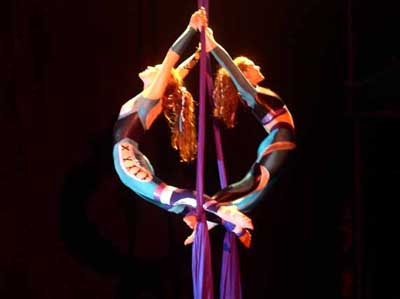 Contact Crazy Wolf Entertainment to book ImaginAerial