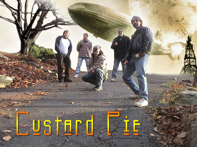 Contact Locolobo to book Custard Pie