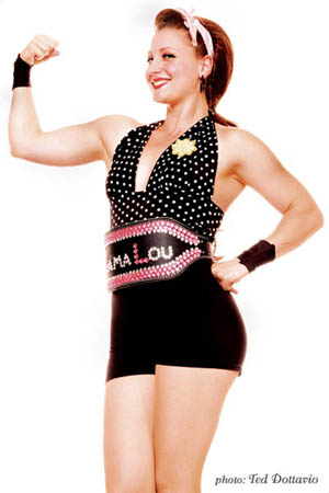 Contact Crazy Wolf Entertainment to book Mama Lou: American Strong Woman