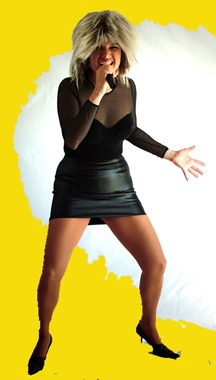 Victoria Boland:A Tina Turner Impersonator