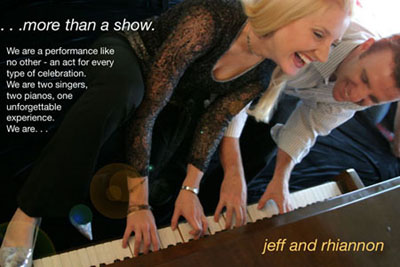 The Jeff & Rhiannon Dueling Piano Show