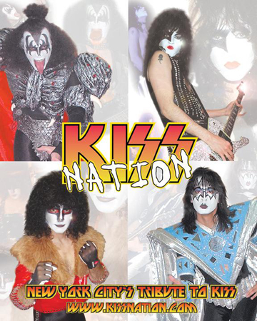 KISSNATION: New York City's KISS TRIBUTE.