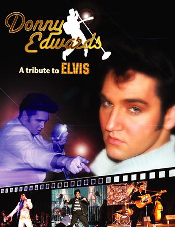 DONNY EDWARDS -  World Famous Elvis Tribute Artist