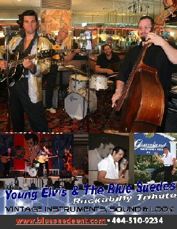 YOUNG Elvis & The Blue Suedes Rockabilly Tribute!