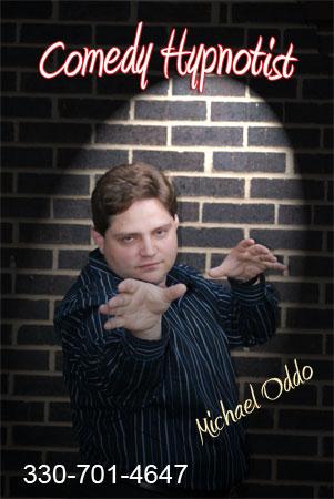 Comedy Hypnotist Michael Oddo