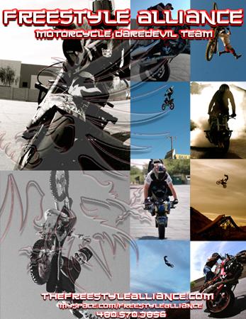 Freestyle Alliance Motorcycle Daredevil Team