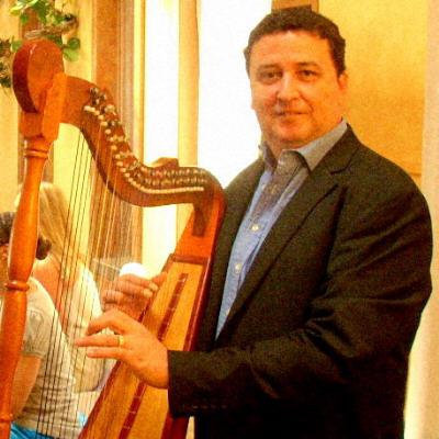 Gilbert Romero Harpist