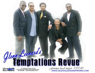 Glenn Leonard's Temptations Revue