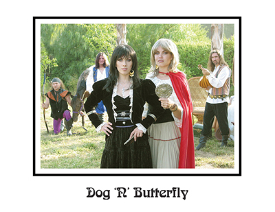 DOG 'N' BUTTERFLY