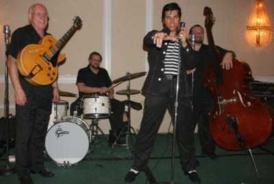 YOUNG Elvis & The Blue Suedes Rockabilly Tribute