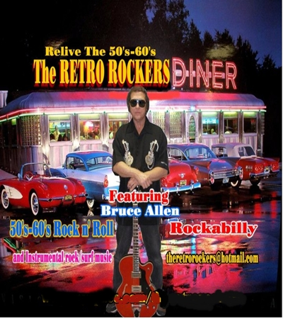 Bruce Allen-The Retro Rockers