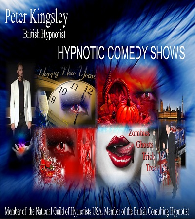 Peter Kingsley British Hypnotist