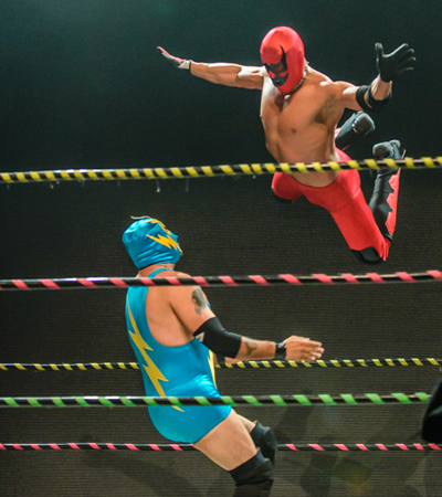 ¡LUCHAFER! A Mexican Wrestling Extravaganza