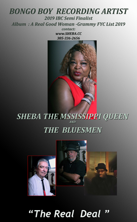 Sheba the Mississippi Queen and The Bluesmen